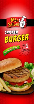 Chicken Buger Hot n Spicy by b4umedia
