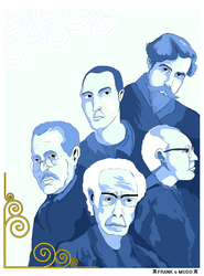 Portuguese Composers Illustration by FranktheMute