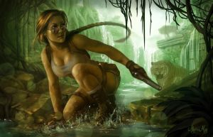 Tomb Raider - Fan Art Fifteenth by minielche