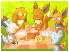 Picnic Time by ShootingStarEevee