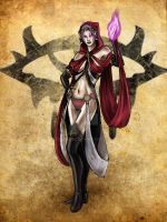 Sorceress by chetosee