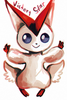 Victini by ShadNoir
