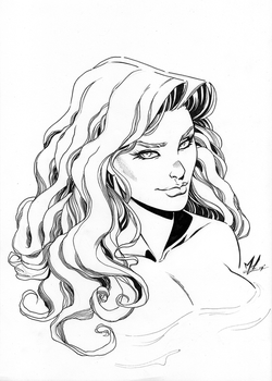 Poison Ivy Inks by Marc-F-Huizinga