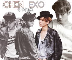 Chen (EXO) [PNG PACK] by ByMadHatter