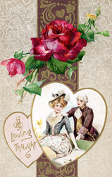 Loving Thoughts Vintage by SolStock