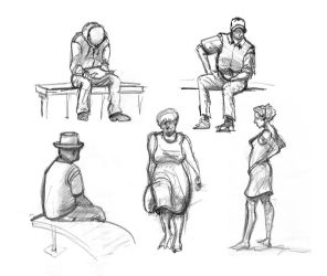 Quick sketches - 13.12.11 by blaahy