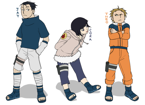 in which i am nart trash with my fma ocs by HitanTenshi