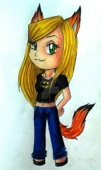Myself in chibi by Tolina