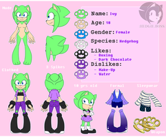 Refsheet by HedgieBoss