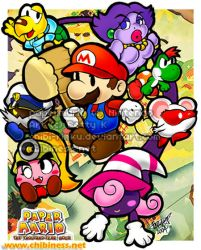 Paper Mario 2 TTYD by BettyKwong