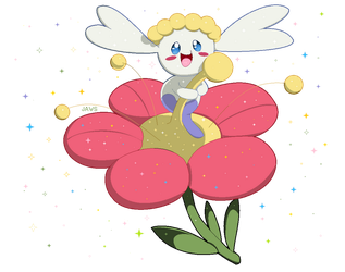Shiny Flabebe by Willow-Pendragon
