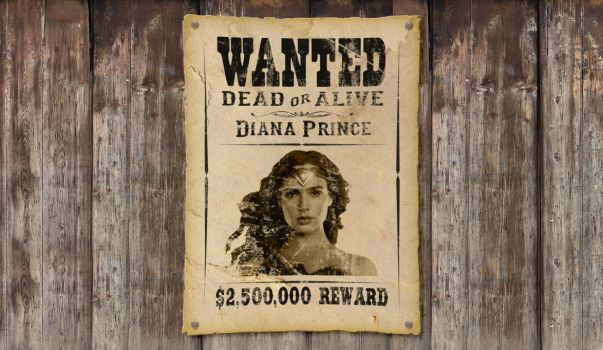 Wonder Woman Wanted by AzriiantoTeguh