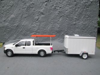 Custom Greenlight Ford F-150 With Trailer by ReptileMan27
