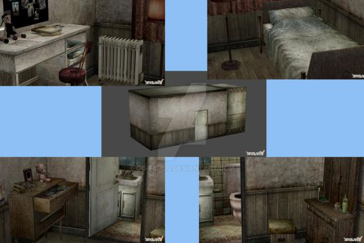 SILENT HILL 3 CHILD ROOM by Oo-FiL-oO
