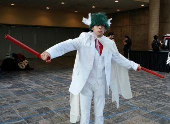 Otakon 2015- Mega Gallade Cosplay Debut! by Robinsu