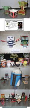 My Starwars papercrafts II by paulinone