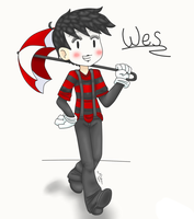 Don't Starve - Wes Doodle by xMisha-chanx