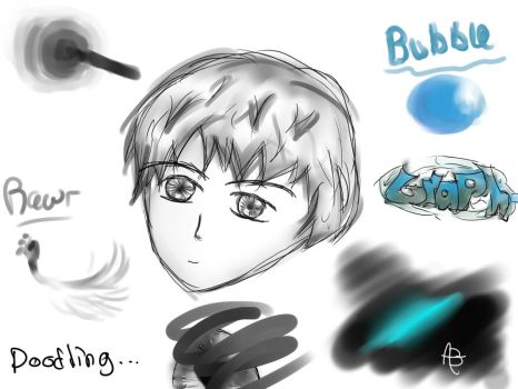 Paint tool Sai, Sketches by DemanQc