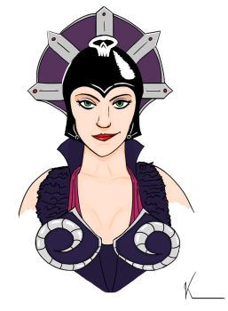Evil-Lyn, The Witch by Verhelm