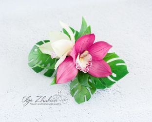 Handmade flowers (cold porcelain) by polyflowers