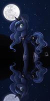 Moonlit Reflection by CaineScroll