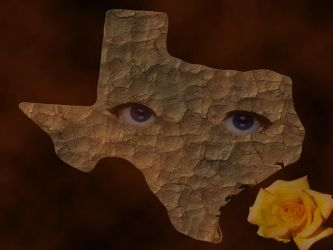 Bluest eyes of texas version 2 by angelestes