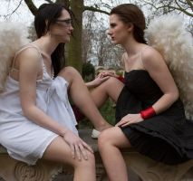 Lesbian Angels stock 53 by Random-Acts-Stock