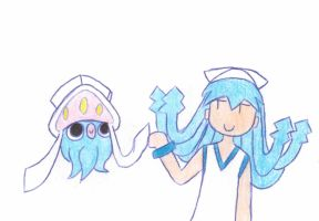 Squiddies by shellegg