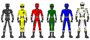 Kaiserverse - Power Rangers Legend Beasts by Kaiserf11