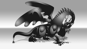 Ink Dragon by spdy4
