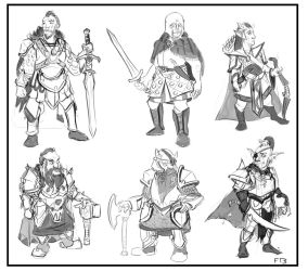 DwarfFortresFactionDoodles by DreadHaven