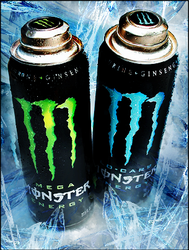 Iced Monster Ad by A-Panda-Pus