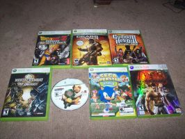 My VG collection part 6: X360 by StSubZero