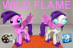 (DL) Wild Flame by Out-Buck-Pony