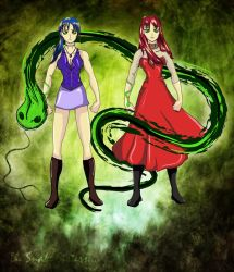 Saeth, The Snake Sisters. by Magic-Onigiri