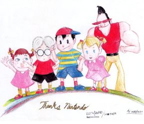 EarthBound Beginnings (Dream came True) by Reallyfaster