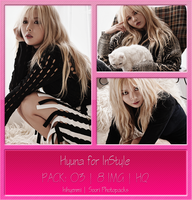 [PHOTOPACK] 4MINUTE Hyuna for InStyle by hihyenmi2