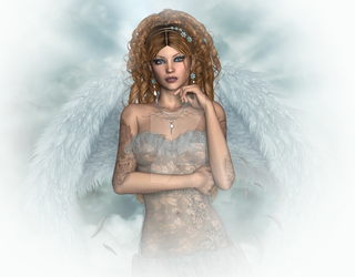 Tatoo Angel by CaperGirl42