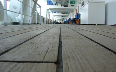 Wooden Deck by skyride