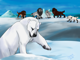 Hunting - Polar Express by tsareia