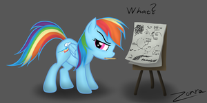 Rainbow Dash's plans by Zonra