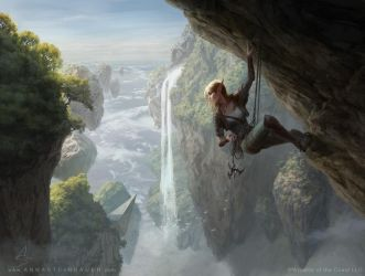 MtG Seek the Wilds by depingo