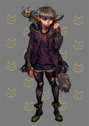 Meow Meow girl by huanGH64