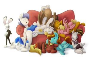 Sleepy Squad by Luximus17