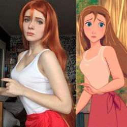 Jane - Tarzan by IraNyaaasha