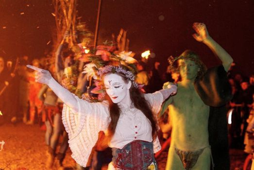 Around the Beltane Bonfire by two-truths