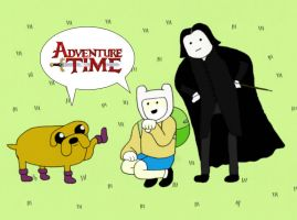 Err....Adventure time? by hever