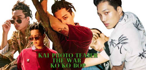 EXO Kai PNG Pack {THE WAR KO KO BOP} by MadebyHiyori
