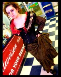 Halloween Mrs. Lovett by jac
