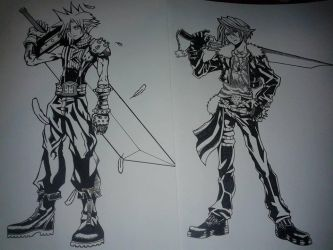 Cloud e Squall would be a nice team!!! Right??? by IceAgony